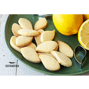 Bolachinhas de Limão Quitanderia 166 g
