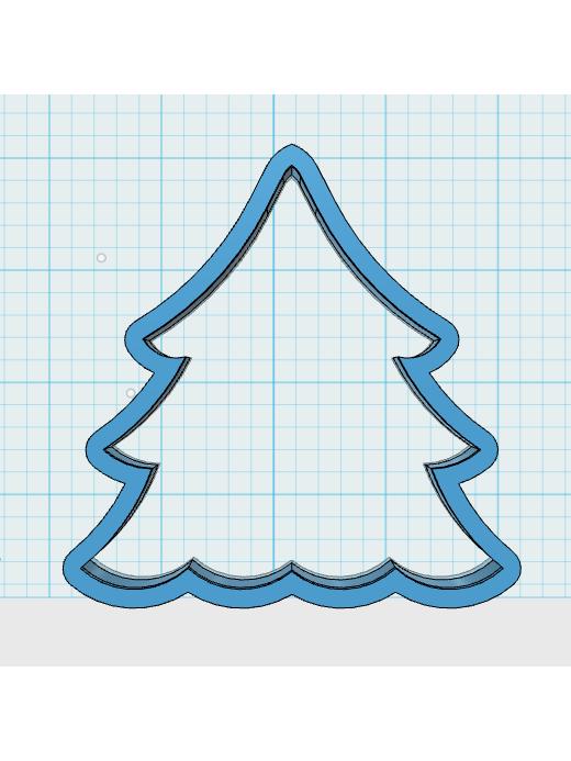 Cortador de Biscoito Árvore de Natal 03