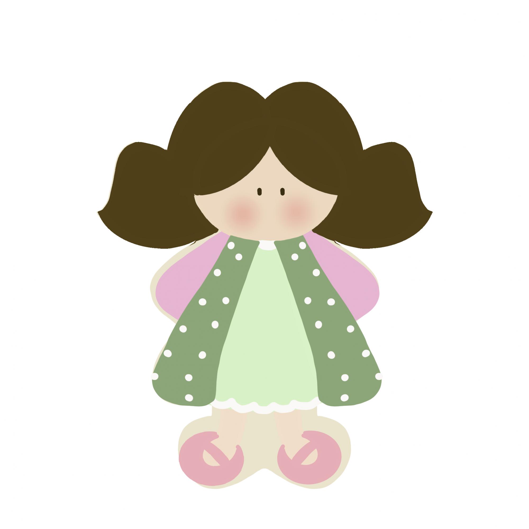 Cortador de Biscoito Boneca/ Menina de Maria Chiquinha