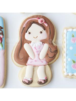 Cortador de Biscoito Boneca (Menina Sereia)