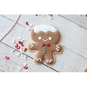Cortador de Biscoito Boneco de Gengibre - Pai (Tema Família Ginger)