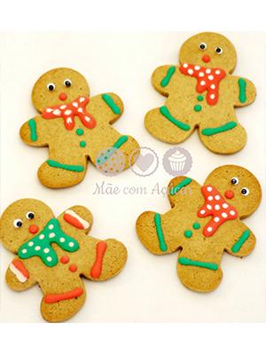 Cortador de Biscoito Boneco de Gengibre (Tema Natal)