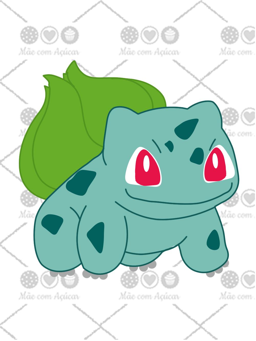 Cortador De Biscoito Bulbasaur (Tema Pokémon)