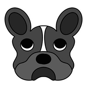 Cortador de Biscoito Cachorro Bulldog Francês