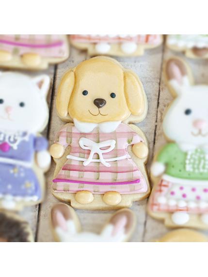 Cortador de Biscoito Cachorro Poodle Toy (Tema Sylvanian Families)