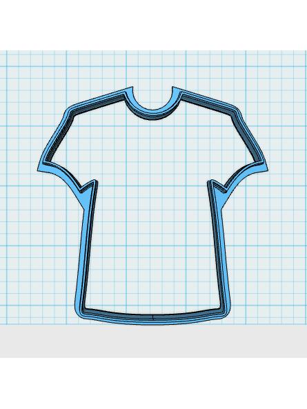 Cortador de Biscoito Camiseta ou Jaleco (Tema Futebol ou Hospital)