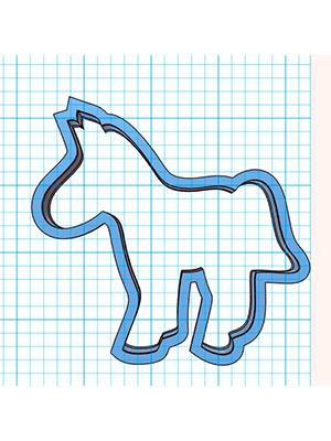 Cortador De Biscoito Cavalo