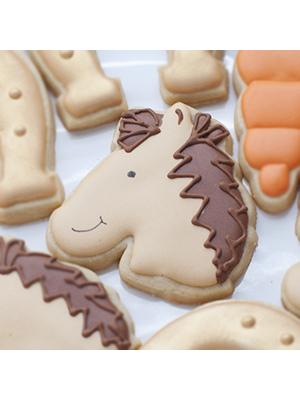 Cortador de Biscoito Cavalo (Rosto) (Cavalinho de Perfil)