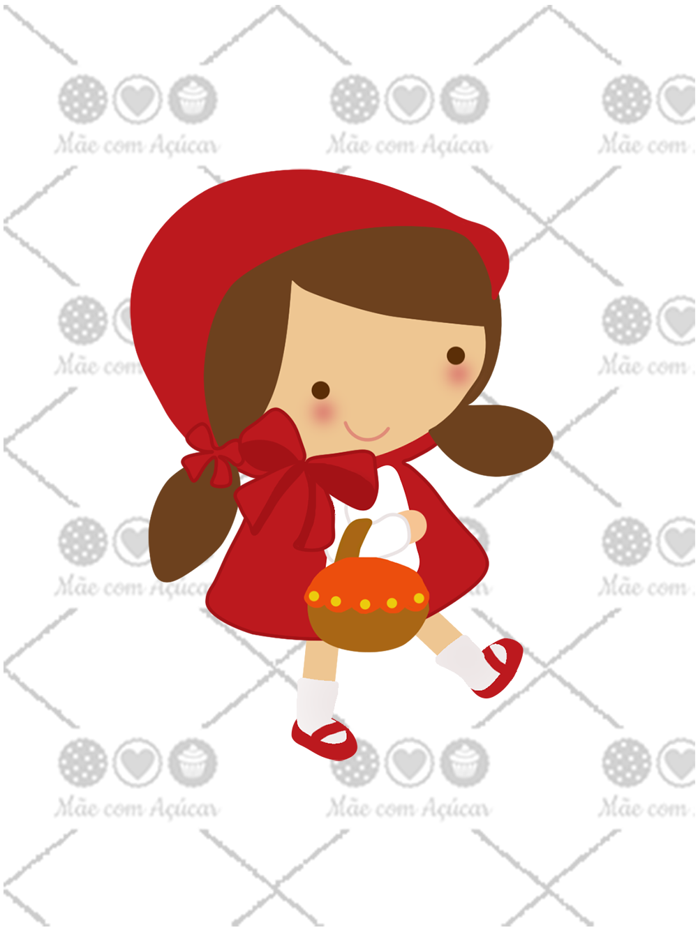 Cortador de Biscoito Chapeuzinho Vermelho