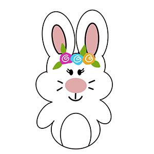 Cortador de Biscoito coelha/ coelho Oreo