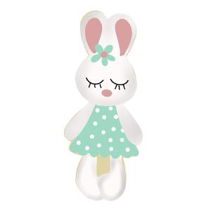 Cortador de Biscoito Coelha e coelho Bunie