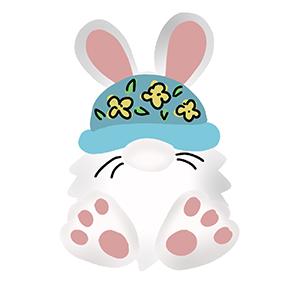 Cortador de Biscoito coelho gnomo