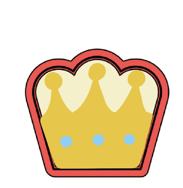 Cortador de Biscoito Coroa
