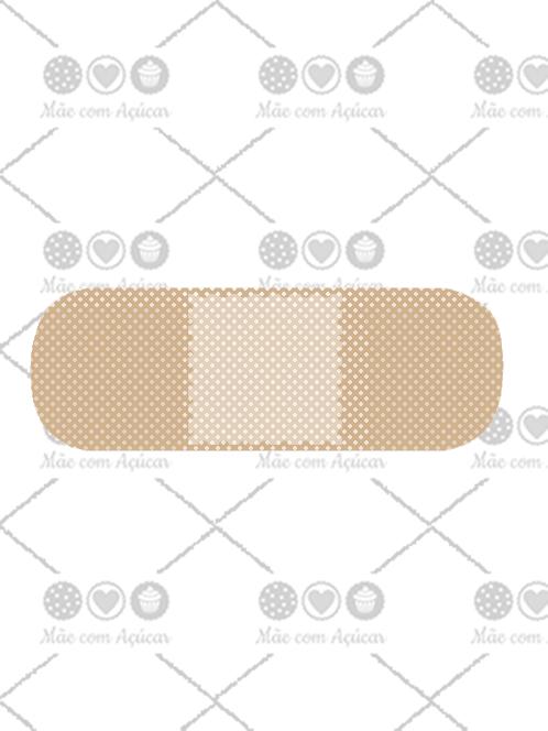 Cortador de Biscoito Curativo (Tema Hospital ou Médico)