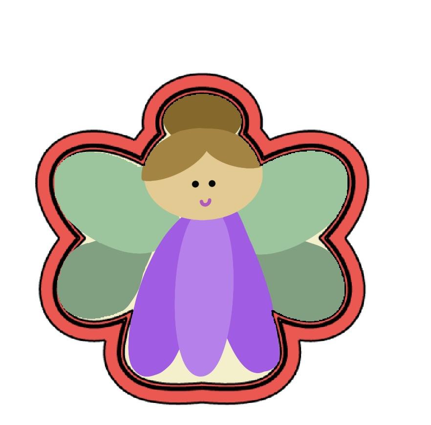 Cortador de Biscoito Fada Mini (Tema Princesa)