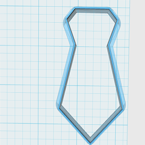 Cortador De Biscoito gravata