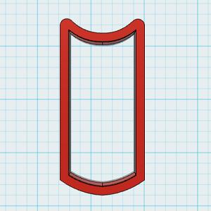 Cortador de Biscoito Lápis Massa Colorida - 2 peças de cortadores (Tema Dia do Professor ou Escola)