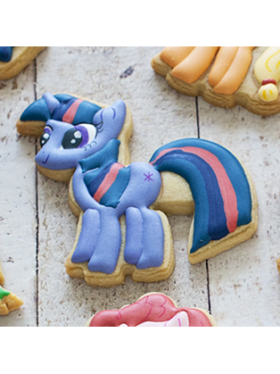 Cortador de Biscoito Little Pony Twilight Sparkle