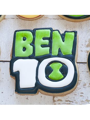 Cortador de Biscoito Logo do desenho Ben 10