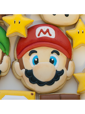 Cortador de Biscoito Mario Bros (Rosto)