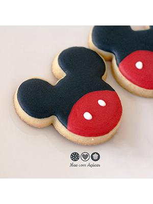 Cortador de Biscoito Mickey Mouse (Rosto)
