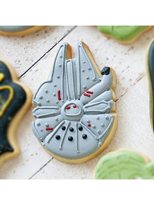 Cortador de Biscoito Nave Espacial Millenium Falcon (Tema Star Wars/ Guerra nas Estrelas)
