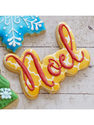 Cortador de Biscoito Nome Noel (Tema Natal)