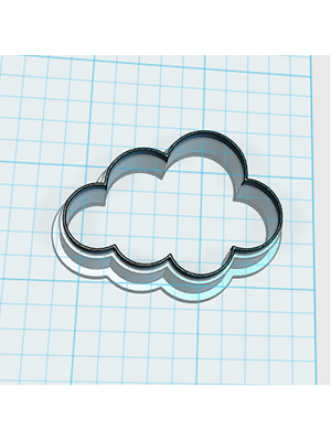 Cortador de Biscoito Nuvem - MINI