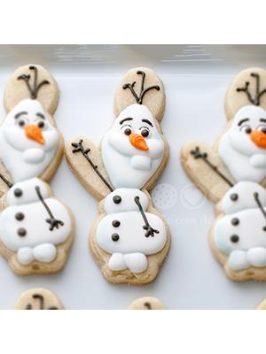 Cortador de Biscoito Olaf (Tema Frozen)