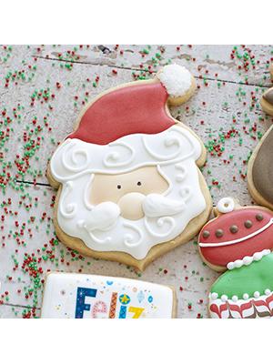Cortador de Biscoito Papai Noel 01 (Tema Natal)