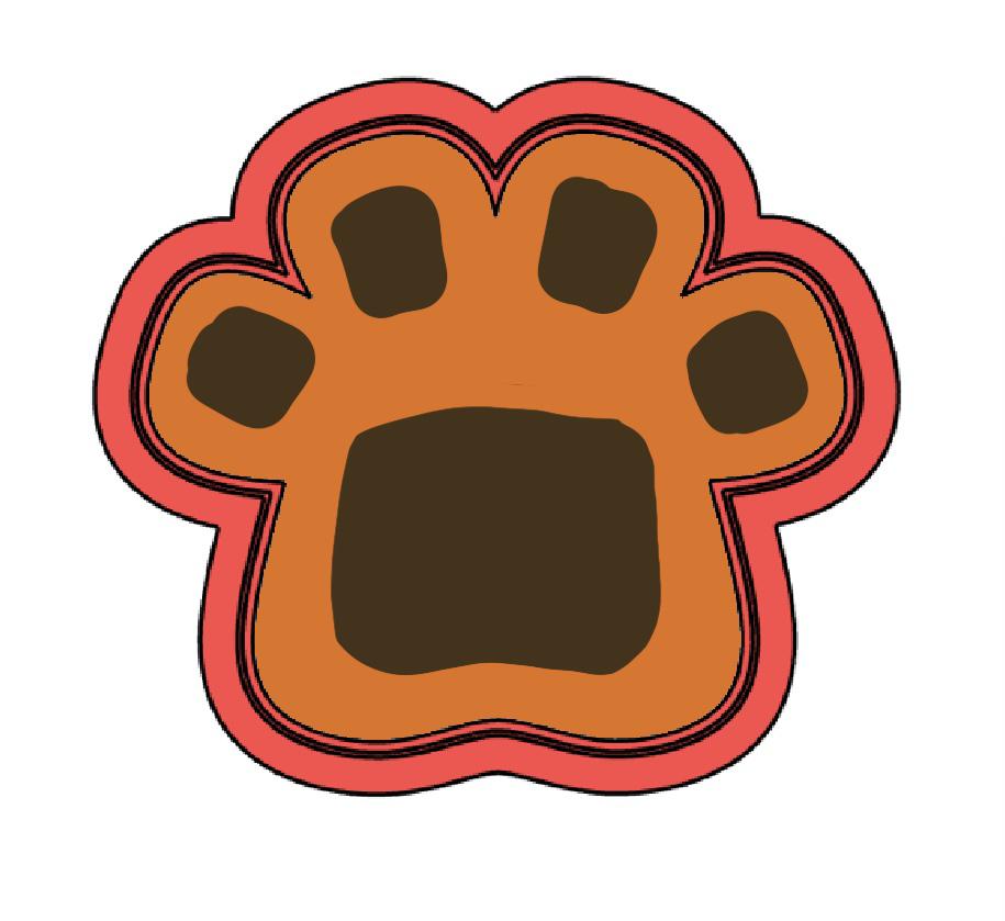 Cortador de Biscoito Pata ou Patinha de Girafa