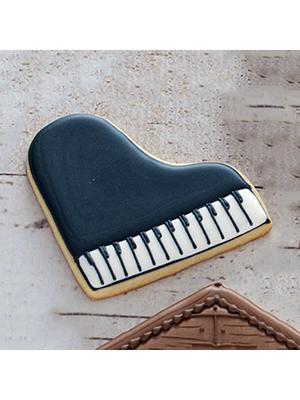 Cortador de Biscoito Piano (Tema Três Porquinhos)