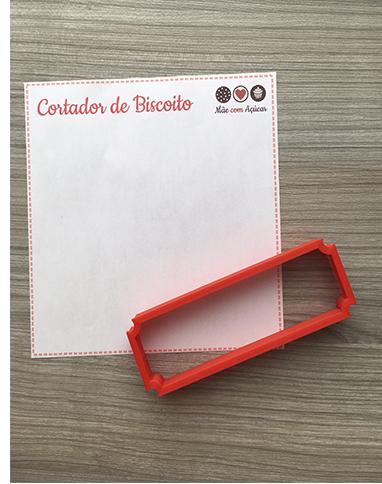 Cortador de Biscoito Placa 01