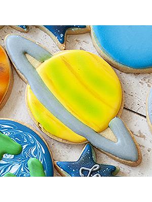 Cortador De Biscoito Planeta Saturno
