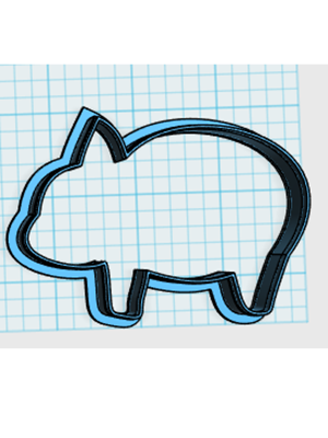 Cortador De Biscoito Porco (Tema Três Porquinhos)