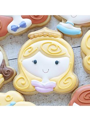 Cortador de Biscoito Princesa Cute Aurora (Bela Adormecida)