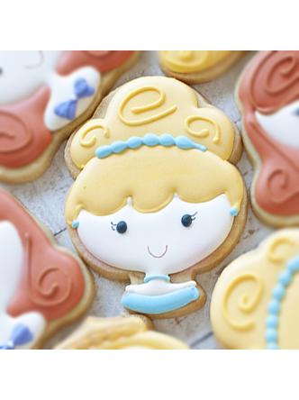 Cortador de Biscoito Princesa Cute Cinderela (Cinderela)