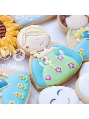 Cortador de Biscoito Princesa Elsa (Tema Frozen)