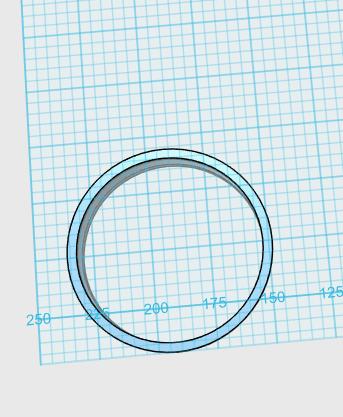 Cortador de Biscoito Redondo/Círculo (8,0 cm diâmetro)