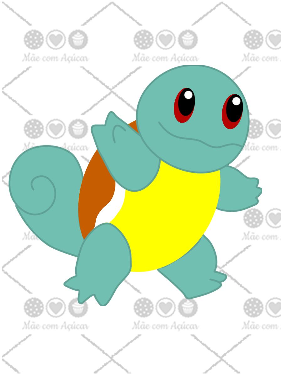 Cortador de Biscoito Squirtle (Tema Pokémon)