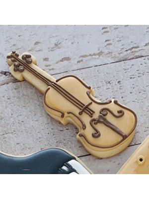 Cortador de Biscoito Violino (Tema Três Porquinhos)