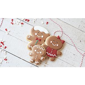 Kit de Biscoitos Decorados de Natal 2020
