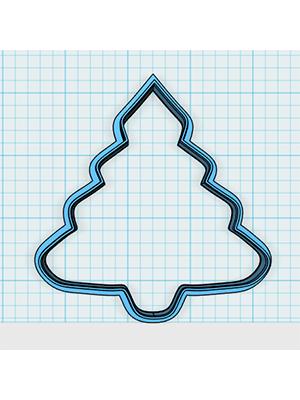 Kit de Cortadores de Biscoito Tema Natal (grande)