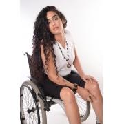 Bermuda adaptada para cadeirantes