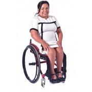 Faixa Pernas Cadeirantes Pack Branca e Preta