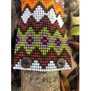 Pulseira Indígena Multicor Aberta