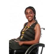 Vestido Anoitecer Adaptado para Cadeirantes