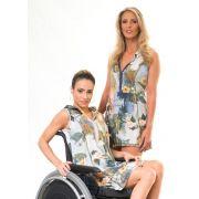 Vestido Vintage Adaptado para Cadeirantes