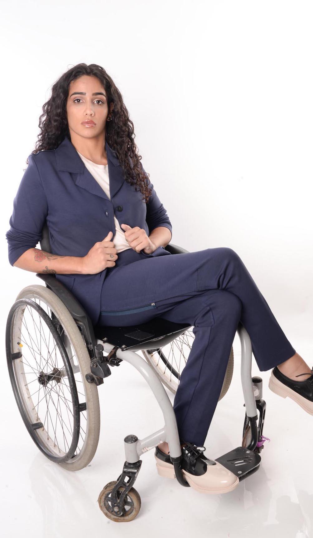 Blaiser Adaptado para Cadeirantes
