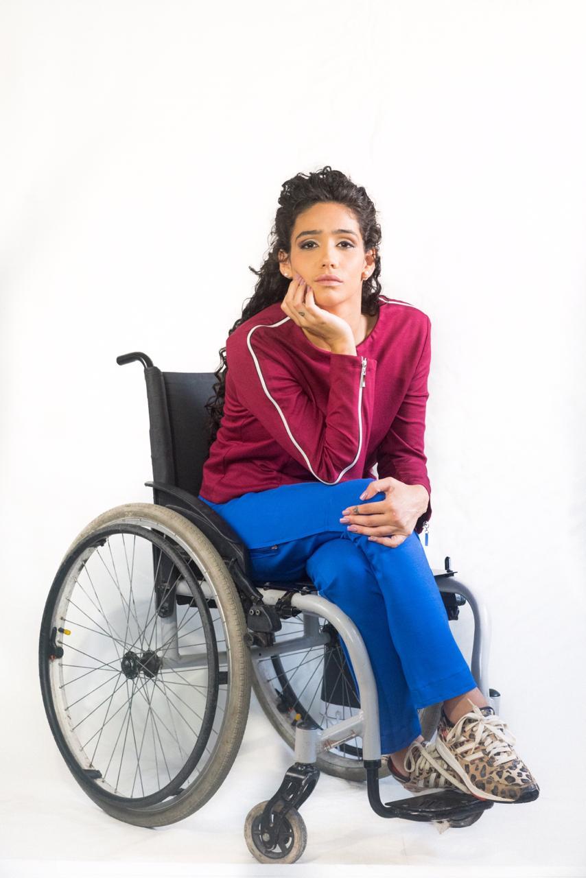 Calça Reta Adaptada para Cadeirantes